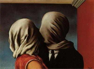 René Magritte - Amantes