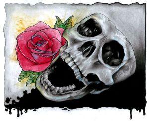 rose-skull